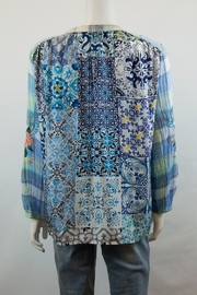 3J Workshop by Johnny Was Norah Peasant Blouse - Side cropped
