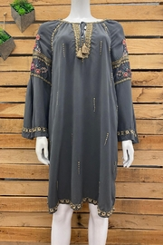 3J Workshop by Johnny Was Sabah Tunic - Front cropped