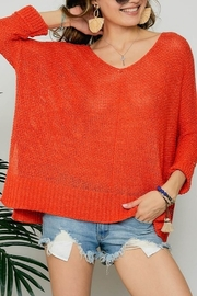 American Chic 3Q DOLMAN SLEEVES SWEATER - Product Mini Image