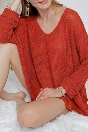 American Chic 3Q DOLMAN SLEEVES SWEATER - Front cropped