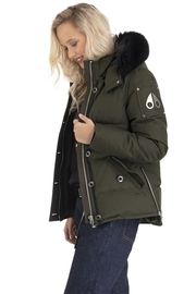 Moose Knuckles  3q Jacket Army - Product Mini Image