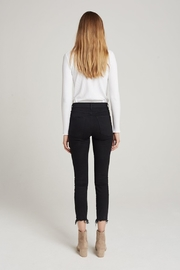 3x1 Black Cropped Jean - Side cropped