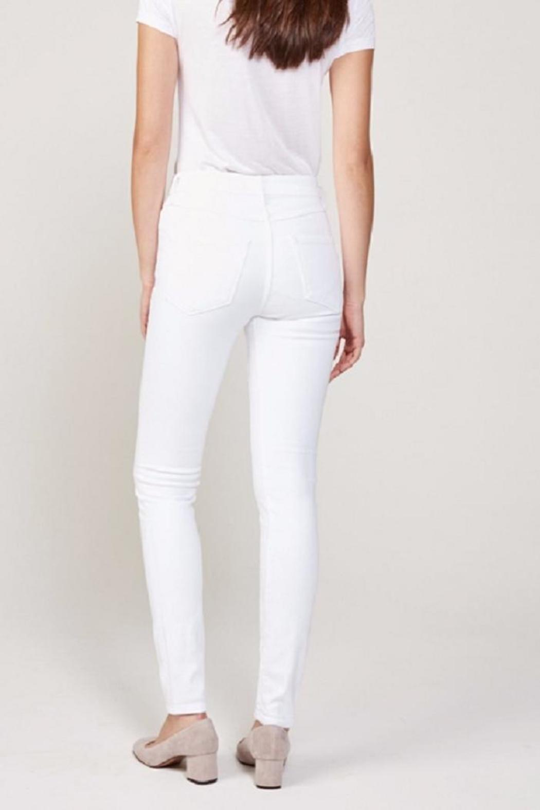 3x1 Highrise White Jean - Front Full Image