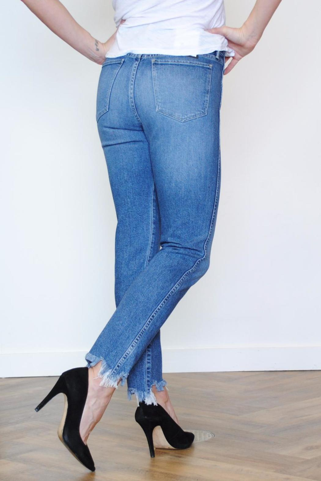 3x1 Straight Crop Jean - Front Full Image