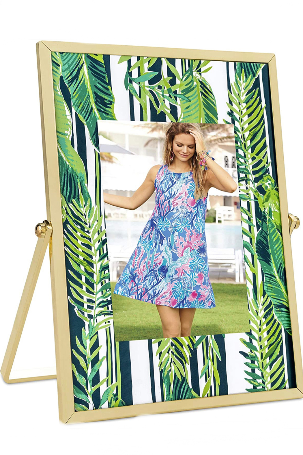 Lilly Pulitzer  Lilly Photo Frame - Front Cropped Image