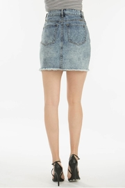 KanCan 4 Button Skirt - Back cropped