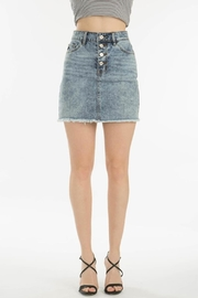 KanCan 4 Button Skirt - Front cropped