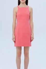 4.Collective Basketweave Square-Neck Dress - Front cropped