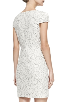 4.Collective Cap-Sleeve Floral-Lace Dress - Alternate List Image
