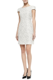 4.Collective Cap-Sleeve Floral-Lace Dress - Product Mini Image