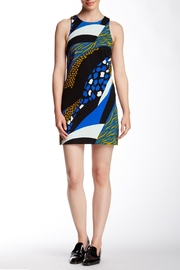 4.Collective Cheetah Sleeveless Dress - Front cropped