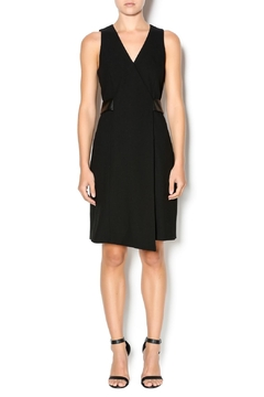 4.Collective Crepe Sleeveless Wrap-Dress - Alternate List Image
