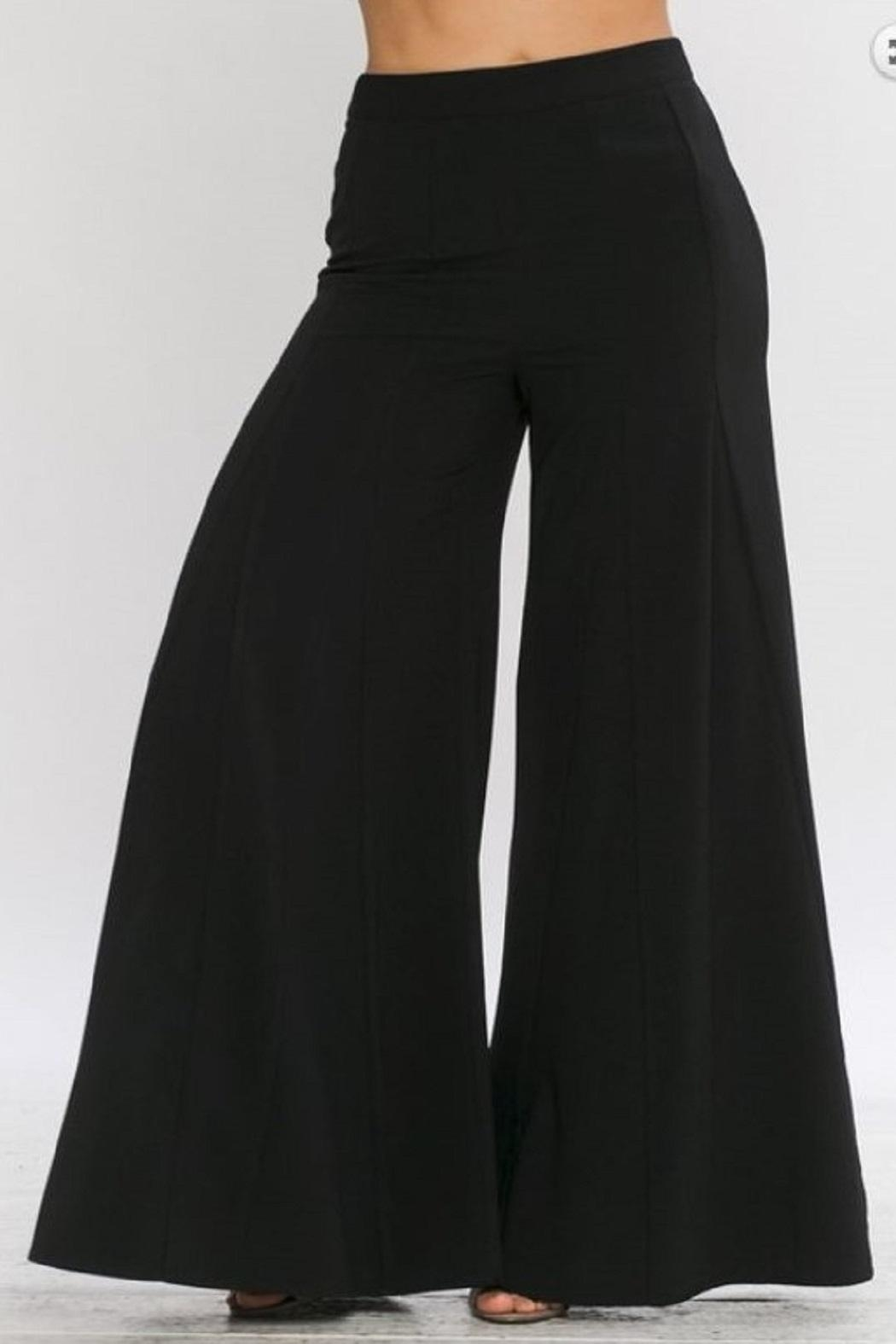 4.Collective Crepe Wide Leg - Back Cropped Image