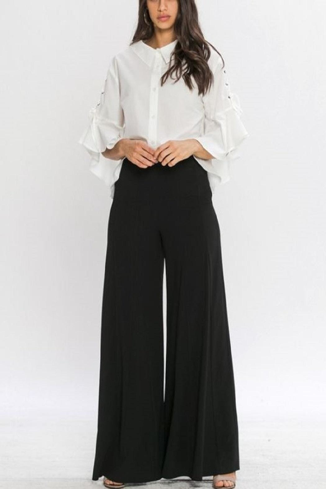 4.Collective Crepe Wide Leg - Front Cropped Image