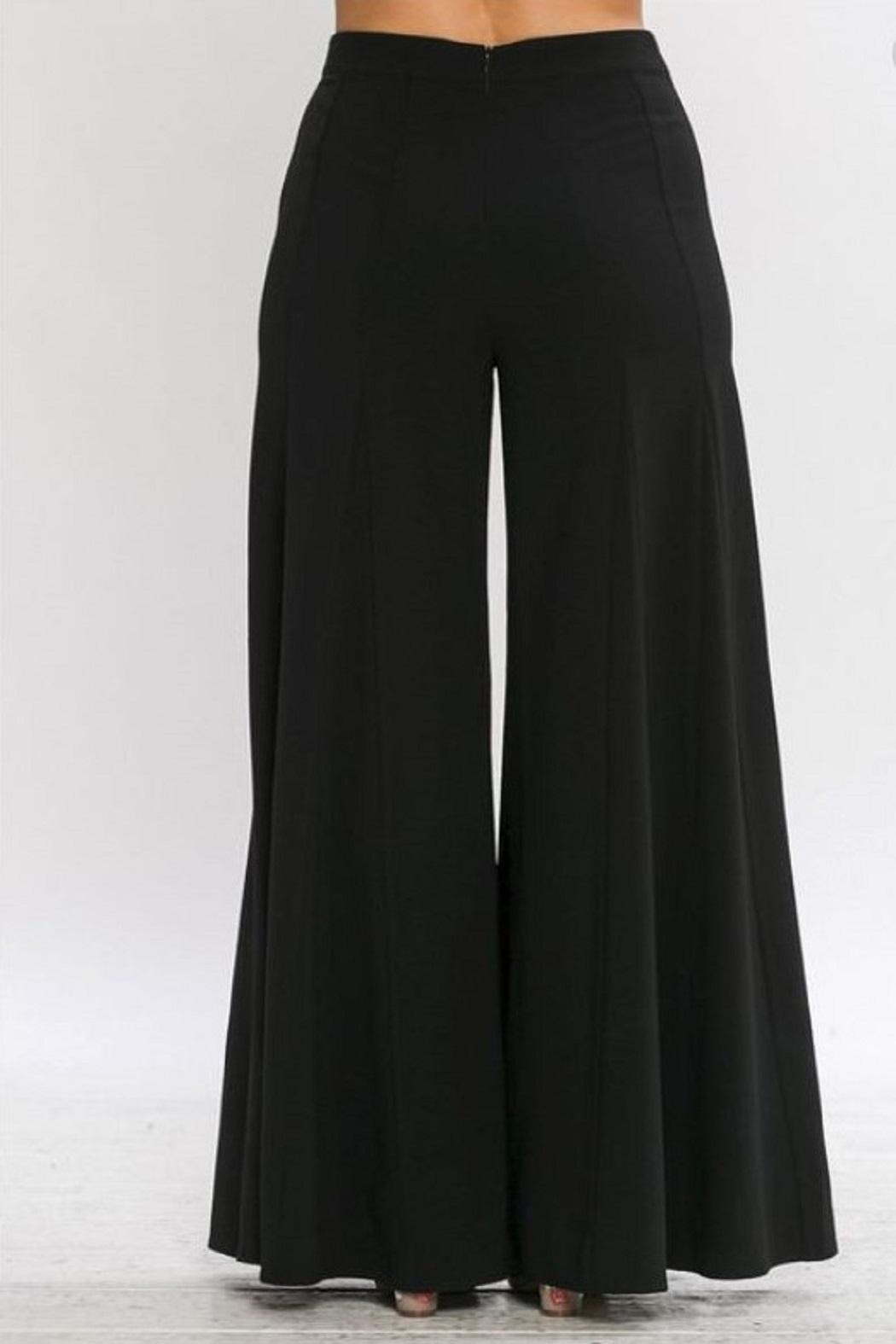4.Collective Crepe Wide Leg - Front Full Image