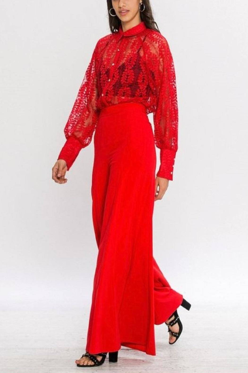 4.Collective Crepe Wide Leg - Main Image