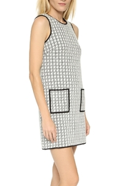 4.Collective Peggie Houndstooth-Shift Dress - Front full body