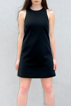 4.Collective Solid Crepe Dress - Alternate List Image