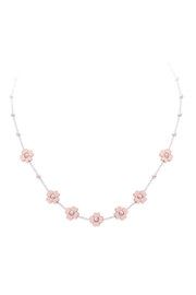 Officina Bernardi 4-Cuori Rose Necklace - Product Mini Image
