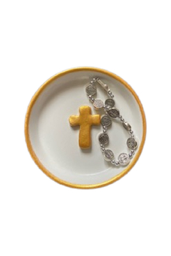 The Birds Nest 4 INCH JEWELRY CATCH ALL-SIMPLE CROSS - Alternate List Image