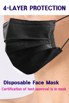 R+D  4 Layer Disposable Face Mask Box - Product List Image