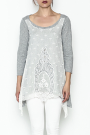 4 Love & Liberty Antiqued Tee - Front full body