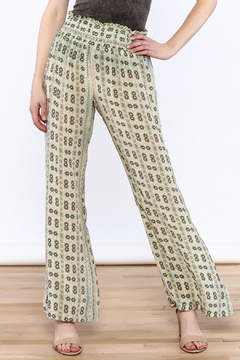 Shoptiques Product: Green Crepe Pants