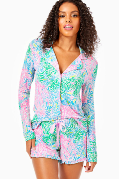 "Lilly Pulitzer  4"" Ruffle PJ Knit Short - Product List Image"