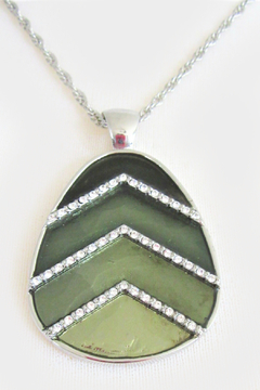 Mimi's Gift Gallery 4 Shades of Green Necklace Set - Alternate List Image