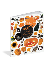 Workman Publishing 400 Reuseable Stickers:  Halloween - Front cropped