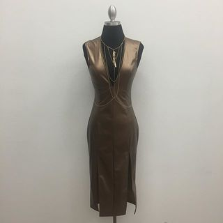 Shoptiques Bronze Dress