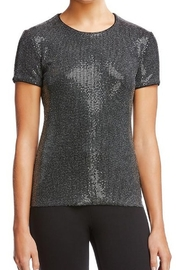 Bailey 44 401-D111 - Eddie Clear Sequin Tee, Black or Gulf Stream - Product Mini Image