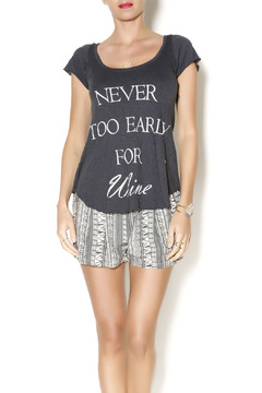 Shoptiques Product: Never Too Early Tee