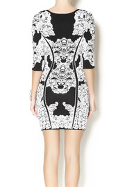 Wow Couture Damask Body Con Dress - Back cropped