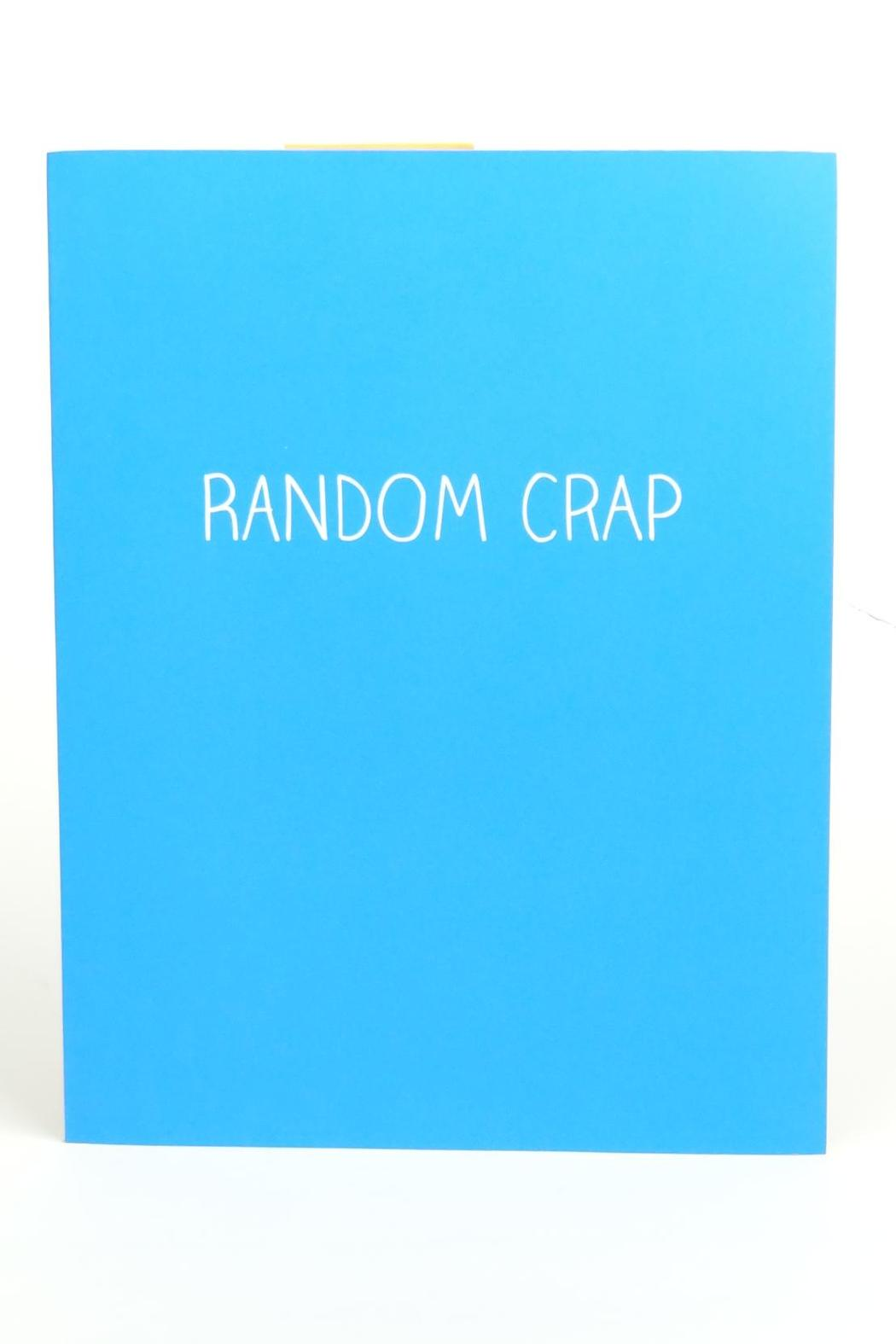 Happy Jackson  Large Jotter Notepad - Main Image