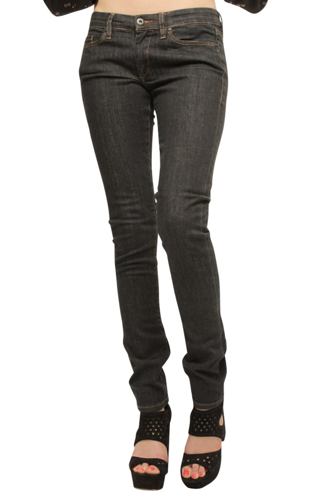 BlankNYC Ike and Tina Skinny Jeans - Front Cropped Image