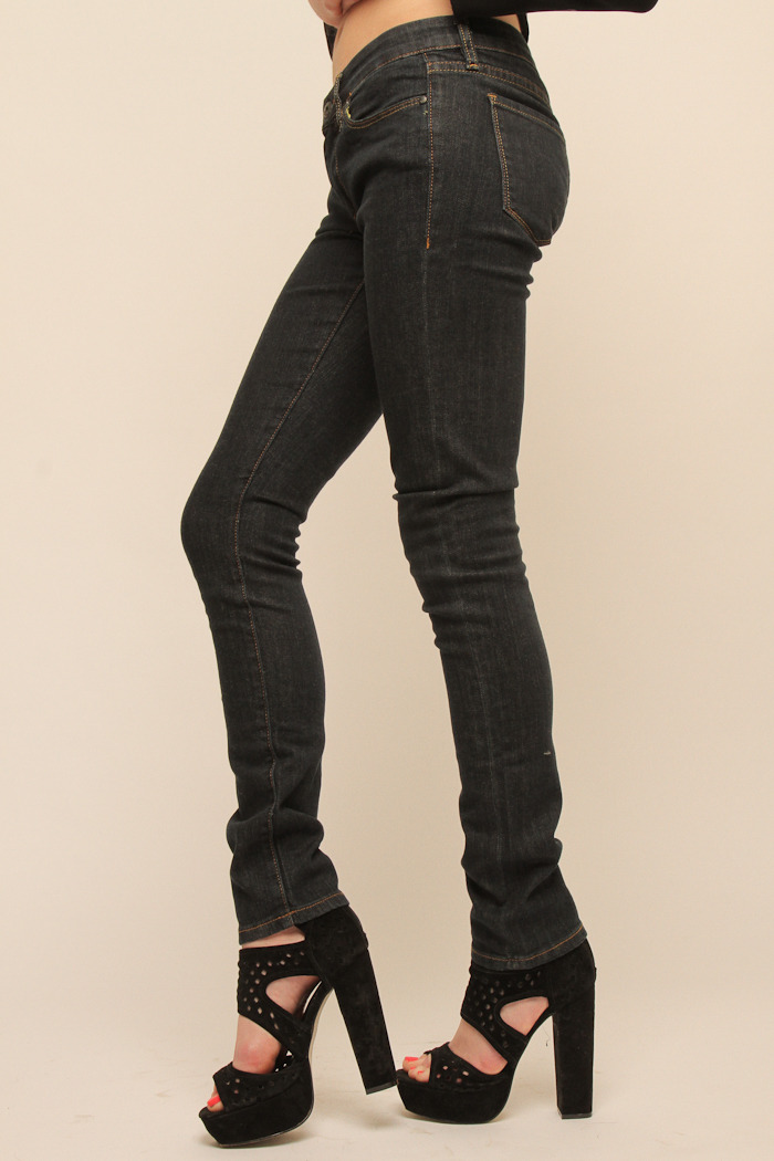 BlankNYC Ike and Tina Skinny Jeans - Front Full Image