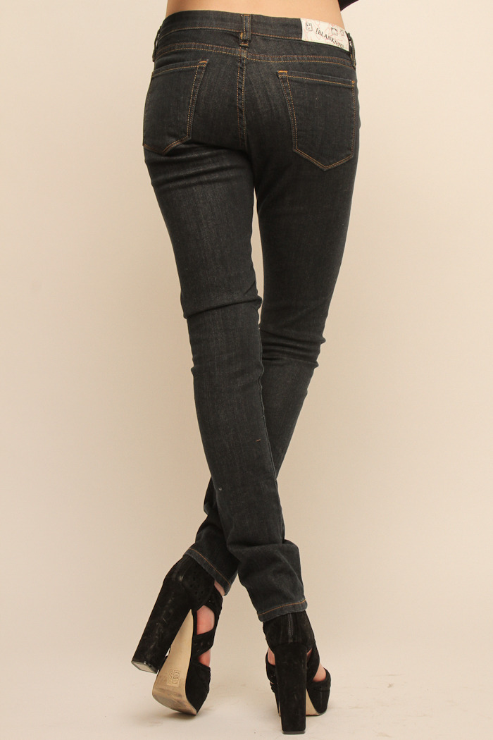 BlankNYC Ike and Tina Skinny Jeans - Side Cropped Image
