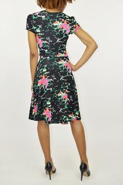 Leota Floral Surplice Dress - Alternate List Image