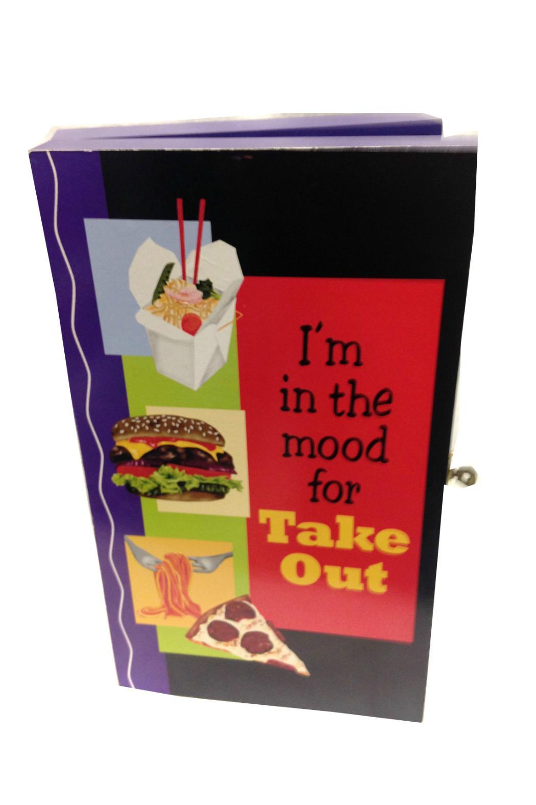 Imported take out menu box from california by just trudi 39 s for Take out menu