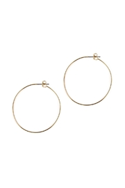 Riah Fashion 40mm-Wire-Hoop Earrings - Product Mini Image