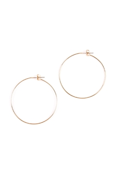 Shoptiques Product: 40mm-Wire-Hoop Earrings