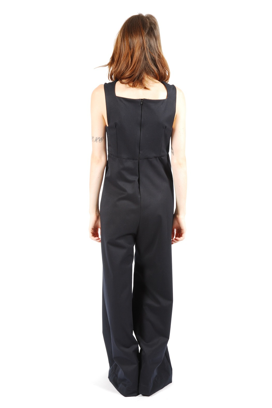 Mimi's Beer Tank Top Jumpsuit - Back Cropped Image