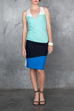 Whit Racer Colorblock Dress - Product List Image