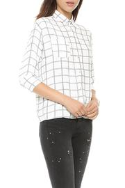 MYNE Oxford Plaid Shirt - Product Mini Image
