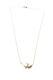Green 3D Swallow Necklace - Product Mini Image
