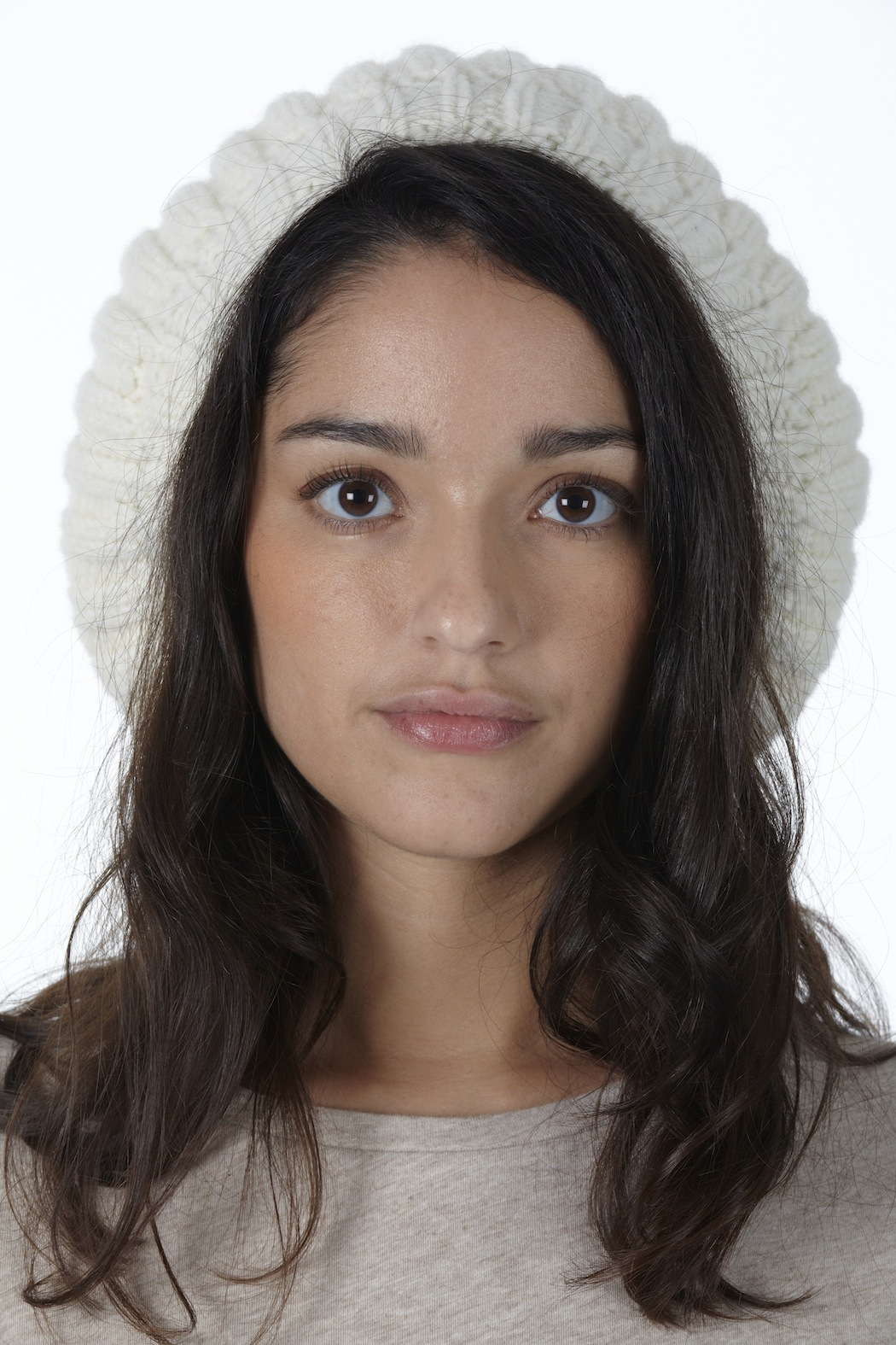 Wool Society France Merino Wool Hat - Front Cropped Image