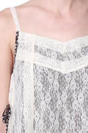 Ryu: Print Lace Cami - Side cropped