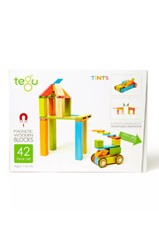 Tegu 42 Piece Magnetic Wooden Block Set - Product Mini Image