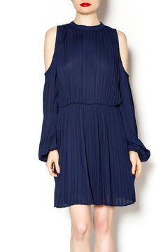 Blaque Label Long Sleeve Pleated Dress - Product List Image